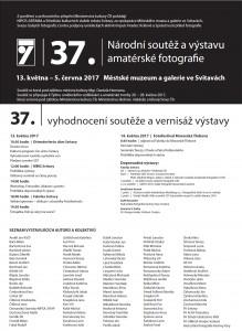 Národní soutěž 2017 - 37_ročník - pozvánka
